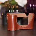 COW LEATHER CAMERA BAG