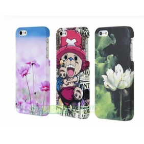 3D Sublimation  white blank DIY Case (GLOSS )for APPLE IPHONE5  5S -Edge Printable cases- can be  printed by 3D Sublimation Vacuum Heat Press machine