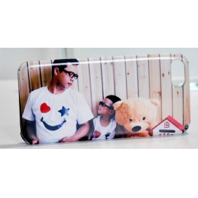 3D Sublimation  white blank DIY Case (Luminous )for APPLE IPHONE5 -Edge Printable cases- can be  printed by 3D Sublimation Vacuum Heat Press machine