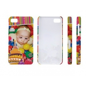 3D Sublimation  white blank DIY Case (GLOSS )for BLACKBERRY BB Z10 -Edge Printable cases- can be  printed by 3D Sublimation Vacuum Heat Press machine