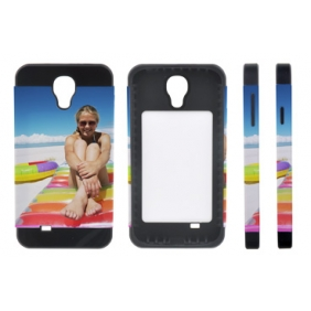 Card Insert 3D Sublimation  white blank DIY Case (MATTE SIX COLOR  )for SAMSUNG GALAXY S4 I9500 -Edge Printable Personalized cases- can be  printed by 3D Sublimation Vacuum Heat Press machine