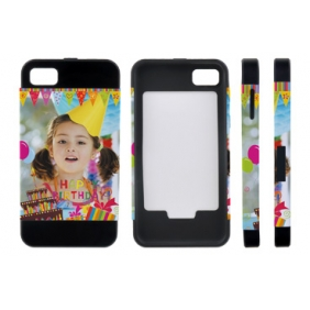 Card Insert 3D Sublimation  white blank DIY Case (MATTE SIX COLOR  )for BLACKBERRY BB Z10 -Edge Printable Personalized cases- can be  printed by 3D Sublimation Vacuum Heat Press machine