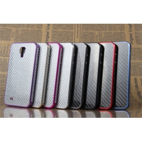 Aluminum bumper Frame  protective  case  with 2PCS screen protector for samsung galaxy S4 SIV I9500