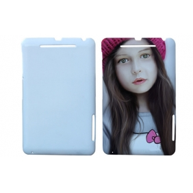 3D Sublimation  white blank DIY Case (GLOSS )for GOOGLE NEXUS7  -Edge Printable cases- can be  printed by 3D Sublimation Vacuum Heat Press machine