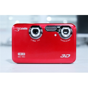 Portable HD 720P 3D camcorder  3D Video Camera Dual Lens Dual sensor HDMI 5MP camera  Phenix SDC821   DHL SHIPPING