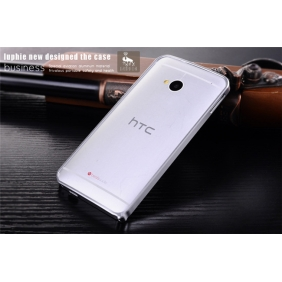 Ultra Slim Thin  Aluminum Alloy bumper Frame  protective metal  case cover for HTC ONE M7