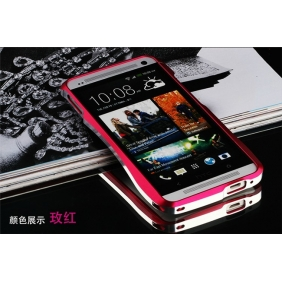 Aluminum Alloy bumper Frame  protective metal  case cover for HTC ONE M7