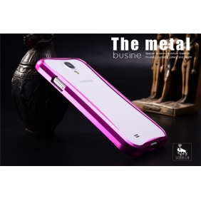 Aluminum Alloy bumper Frame protective  case cover with 2PCS screen protector   for Samsung Galaxy S4 SIV I9500