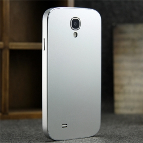 Ultra thin Aluminum Alloy bumper Frame protective  case cover with 2PCS screen protector    for Samsung Galaxy S4 SIV I9500