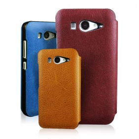 Luxury Genuine Real Cow Flip Leather  Protective  Shell Case Cover for XIAOMI M2S MI2S