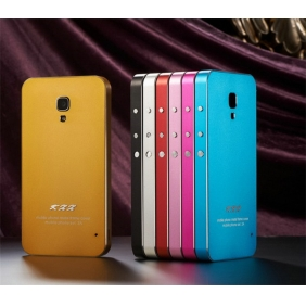 Ultra thin Aluminum Alloy Protective Metal Bumper Shell  Case Cover  for XIAOMI M2A MI2A