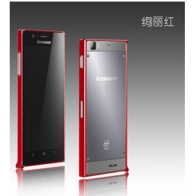 Ultra thin 0.7mm  Aluminum Alloy bumper Frame protective case cover shell with 2PCS screen protector  for LENOVO K900
