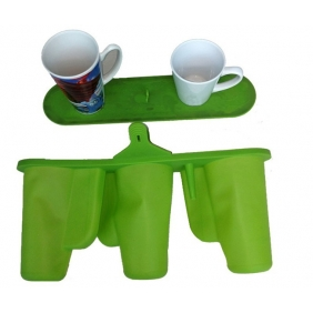 Rubber Silicone clamps/pads/mats/wraps  for  12oz 17oz Conical Cone cup by 3D sublimation Transfer Heat Press machine