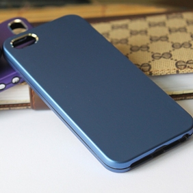 Aluminum Alloy Protective Metal Bumper Shell  Case Cover  with 2PCS screen protector  for APPLE IPHONE5 5S