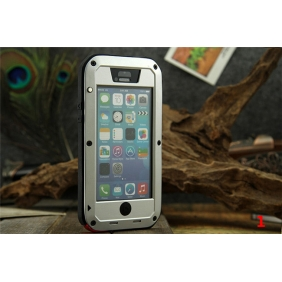 Aluminum Alloy Protective Metal Bumper Shell  Case Cover Dirtproof Waterproof Shockproof with Tempered glass for APPLE IPHONE5C
