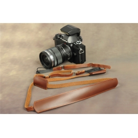 Handmade Genuine Cow Leather Strap  for CANON PENTAX NIKON SIGMA SAMSUNG OLYPUS SONY PANASONIC FUJI LEICA CAMERA