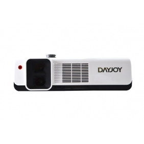 DAYJOY LDCP500 2014 NEW 2500 lumens Dual Lens RealD circular Polarized Passive 3D Projector