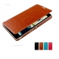 leather protective  bumper case cover with 2PCS screen protector for SONY XPERIA ZR M36H C5502
