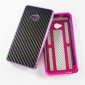 Carbon Fiber Aluminum Alloy bumper Frame  protective metal  case cover for HTC ONE M7