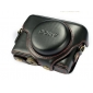 Genuine Cow Leather Protective  Case Cover Bag for Sony RX100 II