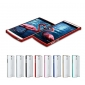 Ultra thin Aluminum protective metal bumper shell case cover for