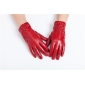 Luxury  Womens Winter Button lace  Style Genuine Real  Lambskin Sheepskin  Leather Warm Gloves Cashmere Lined