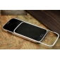 Aluminum Alloy  metal bumper Protective Shell Case Cover  with 2pcs screen protector for Samsung Galaxy S4
