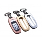 DAYJOY Premium  Aluminum Car Key Shell Cover With Key Chain For Audi SERIES A4L A5 A6L A7 A8 Q5 SQ5 S5 S6 S7 S8 RS5 RS7
